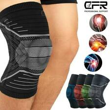 Knee Sleeve Compression Brace Support Sport Meniscus Joint Injury Pain Arthritis