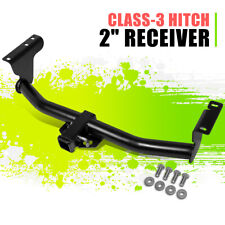 "2""Class-3 Tow Hitch Receiver Glossy Black Assembly w/pin for Nissan Murano 09-14"