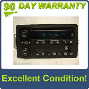 GMC Yukon Sierra CHEVY Avalanche Suburban Tahoe Radio CD Player 03 04 05 06 07