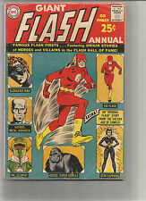 FLASH ANNUAL #1: Silver Age Grade 4.0 Eighty Page Giant!!