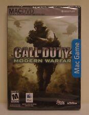New! Call of Duty 4: Modern Warfare (Mac/Apple, 2008) - Ships Worldwide!