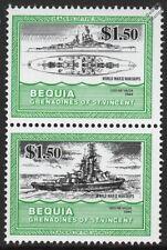 USS NEVADA (BB-36) Battleship (Super-Dreadnought) WWII US Navy Warship Stamps