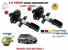 FOR RENAULT CLIO MK3 + SPORT 2005 > NEW 2 X FRONT SHOCK ABSORBER SHOCKER SET