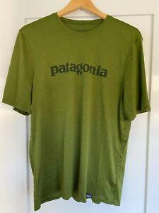 Patagonia Men's Short-Sleeved Capilene Daily Shirt, Medium, Green