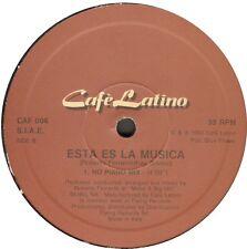 CAFE LATINO - Esta Es La Musica - ita 1993 - CAF 006