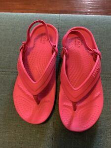 Crocs Pink C13 Sandals