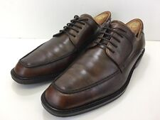 ECCO Mens Brown Dress Shoes Leather Casual Comfort Lace Up Oxford Size 11/45