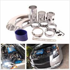 "3"" Chrome Air Filter Intake Intercooler Piping Cold/Hot Pipe Hose Aluminium Set"