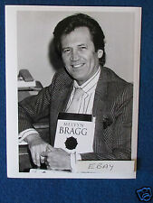 "Original Press Photo - 8.5""x6.5"" - Melvyn Bragg - 1980's"