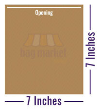 More details for brown / white strung paper bags!   food use/sandwich/takeaway/grocery/fruit/veg