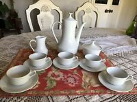 Vintage Espresso Coffee  Set -Demitasse -15 Piece Set -Pontesa  Made In Spain .