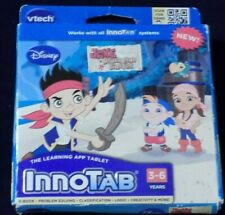 New Jake And The Never Land Pirates Vtech InnoTab 3-6 Years, Disney Ebook & Game