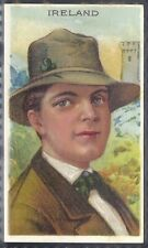 ATC A.T.C. (USA)-TYPES OF NATIONS SERIES (1912)-#22- IRELAND