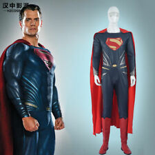 HZYM Superman Man of Steel Cosplay Costume Leather Outfit