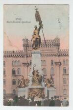 """[67808] 1907 POSTCARD WIEN, AUSTRIA """"DEUTSCHMEISTER-DENKMAL"""""""