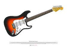 BOB DYLAN 's Newport Stratocaster Póster Arte A2 tamaño