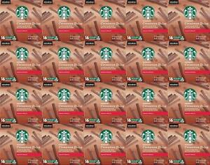 320 COUNT Starbucks Cinnamon Dolce Keurig K-Cups Best Before 1/2020