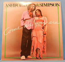 ASHFORD & SIMPSON COME AS YOU ARE LP '76 ORIGINAL SOUL/FUNK NICE COND! VG/VG++!!