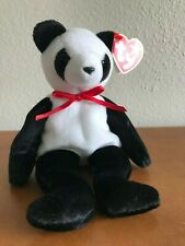 FORTUNE the Panda Ty Beanie Baby – MULTIPLE TAG ERRORS, MWMT, RARE, Ships FREE !