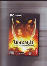 UNREAL II 2 THE AWAKENING - 2002 FPS SHOOTER PC GAME - ORIGINAL & COMPLETE