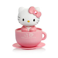 Pink Hello Kitty Moving Head Solar Car Decoration