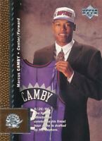 Marcus Camby 1996-97 Upper Deck #118 Toronto Raptors RC Rookie card