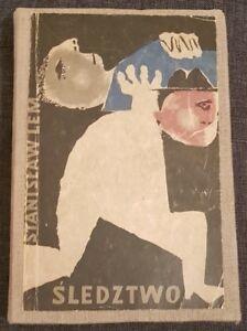 SLEDZTWO Stanislaw Lem   1959   Unique hardback   1st edition   antykwariat