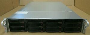 """Supermicro SuperStorage 6027R-E1R12T 2x 12-Core E5-2697v2 192GB Ram 12x 3.5"""" Bay"""