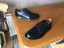 Dr Martens 1461 black steed shoes UK 7 EU 41 England skin mod punk 1B11