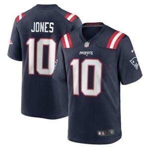 Men's Mac Jones Navy #10 Jersey