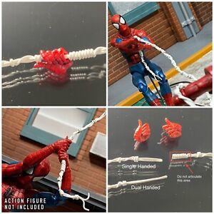 Mafex The Amazing Spiderman Custom Web