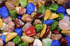 Tumbled Vibrant African Stone Mix - 'A' Grade - 2 Full Pounds!