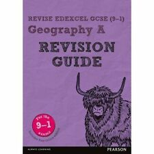 Revise Edexcel GCSE (9-1) Geography A Revision Guide: (with free online edition)