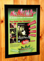 Silent Hill 3 Rare Small Poster / Ad Page Framed PS2 PlayStation 2 Konami