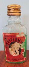 Vintage Essence Peppermint Medicine Apothecary bottle albert pertl ohio