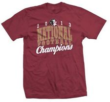Florida State Seminoles NCAA 2013 BCS National Champions Schedule T-shirt Medium