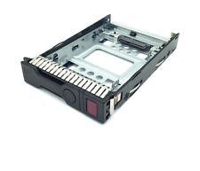 """HP 2.5"""" SSD TO 3.5"""" SATA CONVERTER HARD DRIVE BAY ASSY 654540-001 651314-001"""