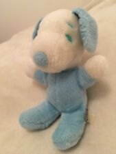 VINTAGE - Peluche SNOOPY Bleu - 26 Cm - 1968 United Feature Syndicate