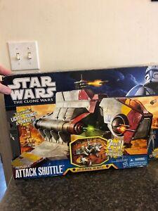 Star Wars Clone Wars Republic Attack Shuttle With Pilot