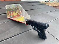 Marx Toys Practice Target Range Arcade Game / Shooting Gallery - Rare 1950s