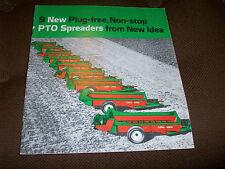 New Idea PTO Manure Spreaders Brochure