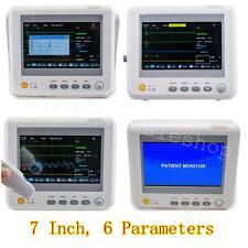 "CE 7"" Vital Sign Patient Monitor Patientenmonitor 6 parameter EKG NIBP TEMP SPO2"