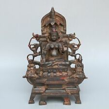 Chinese Exquisite Handmade copper statue