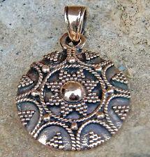 Bronze Anhänger GOLDENE SONNE Mittelalter Intuition keltische Sonne Kraftamulett