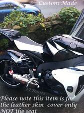 Blanco & Negro Custom encaja Honda Cbr 1000 Rr 08-11 Fireblade Bicicleta Cubierta De Asiento