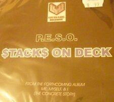 P.E.S.O.   -   STACKS ON DECK  -  SINGLE CD, 2007
