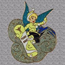 Tinker Bell Snowboard Pin - Jumbo Proof Series - DISNEY Shopping Pin LE 500