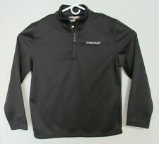 HEAD 1/4 Zip Mid Weight Men's Large Jacket with Ball Pocket.