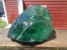 Glass Rock Slag Pretty Clear Green 7.14 lb Hh87 Landscaping Aquarium