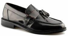 Mens Ikon Original Leather Sole Tassel Loafers Slip On Formal Shoes Size